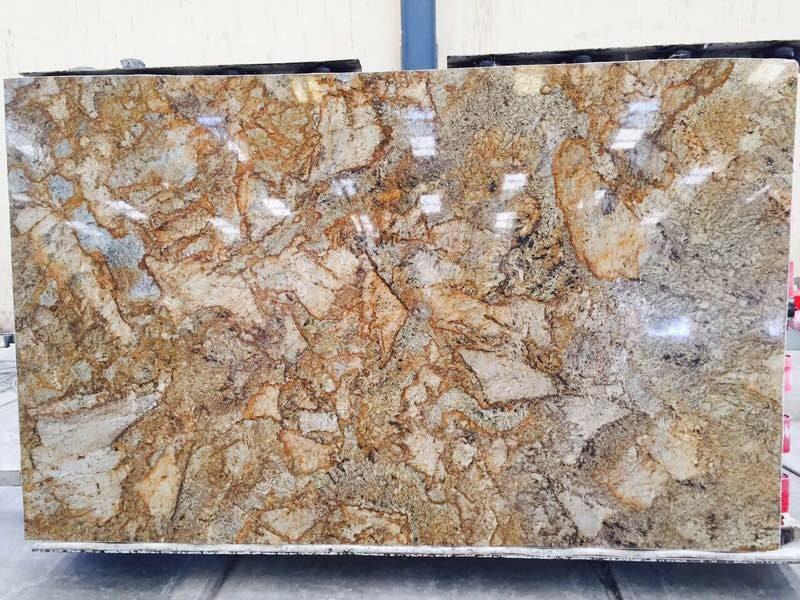Alaskan Gold Granite for Staircase Alaskan Gold Granite for Steps