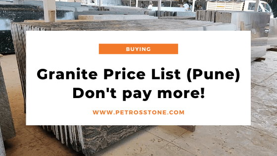 Granite Price List in Pune