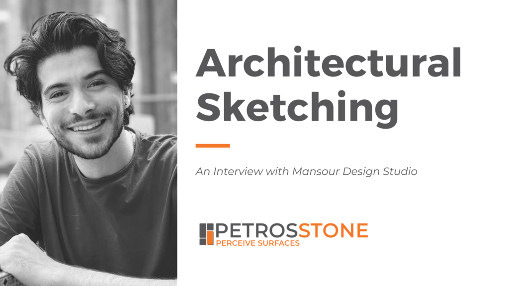 Architectural Sketching - Interview with Mansour Design Studio