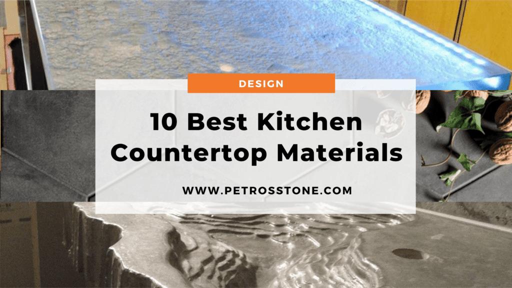 Best Kitchen Countertop Materials in India