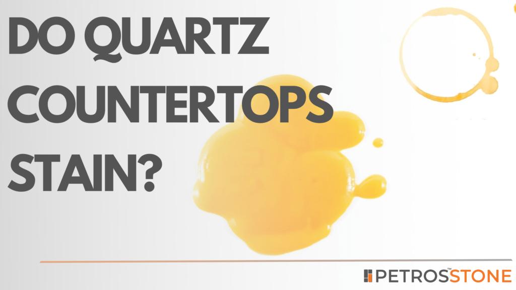 Do Quartz Countertops Stain? Is quartz suitable for Indian Kitchens?
