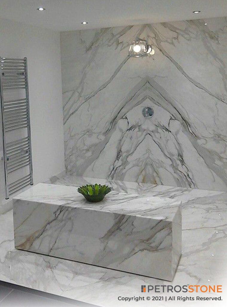 Calacatta Borghini Marble Flooring