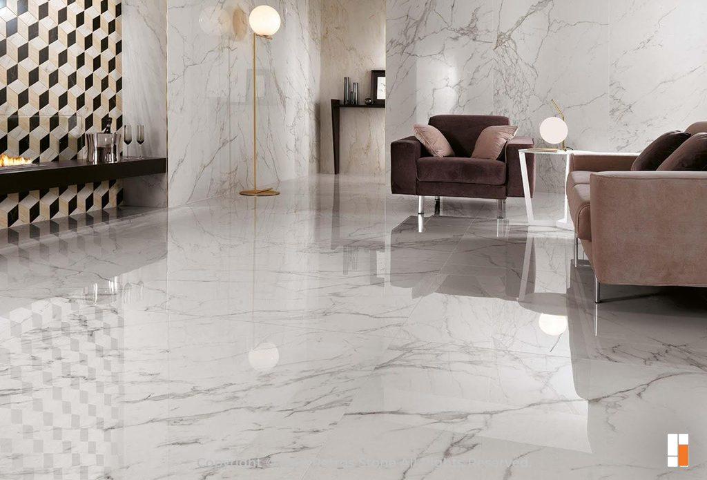Calacatta Oro Flooring - Italian Marble for Flooring