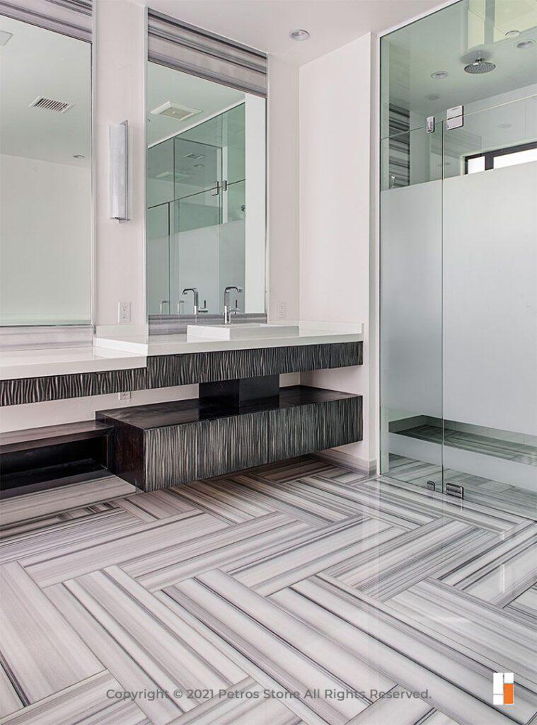 Equator White Marble for Flooring